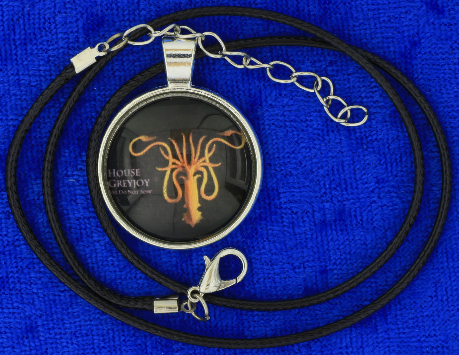 House Greyjoy Necklace We Do Not Sow Game of Thrones Chain Style Length Choice