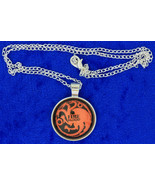 Targaryen Fire and Blood Dragon Necklace Game o... - $4.99 - $6.49
