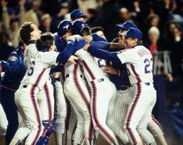 1986 New York Mets Champs Celebration TKK 8X10 Color Baseball Memorabili... - $6.99