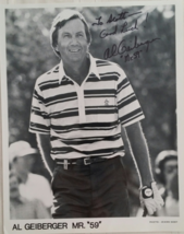 "AL GEIBERGER Mr. ""59"" - 10"" x 8"" signed B&W Photograph - $15.95"