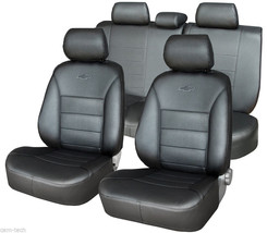 Toyota Prado 150 2010-> Seat Covers Perforated Leatherette - $205.35