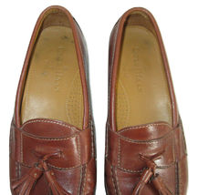 Cole Haan Shoes Size 7.5 Loafers Mens Brown Leather Tassels C06982 India  image 8
