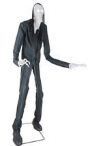 7 FT SLIM SOUL STEALER ANIMATED Halloween Prop SLENDER MAN NEW PROP FOR ... - $199.99