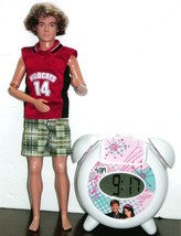 High School Musical Zack Doll & Alarm Clock /w mp3 speaker jack - $10.00