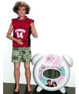 High School Musical Zack Doll & Alarm Clock /w mp3 speaker jack - $10.00