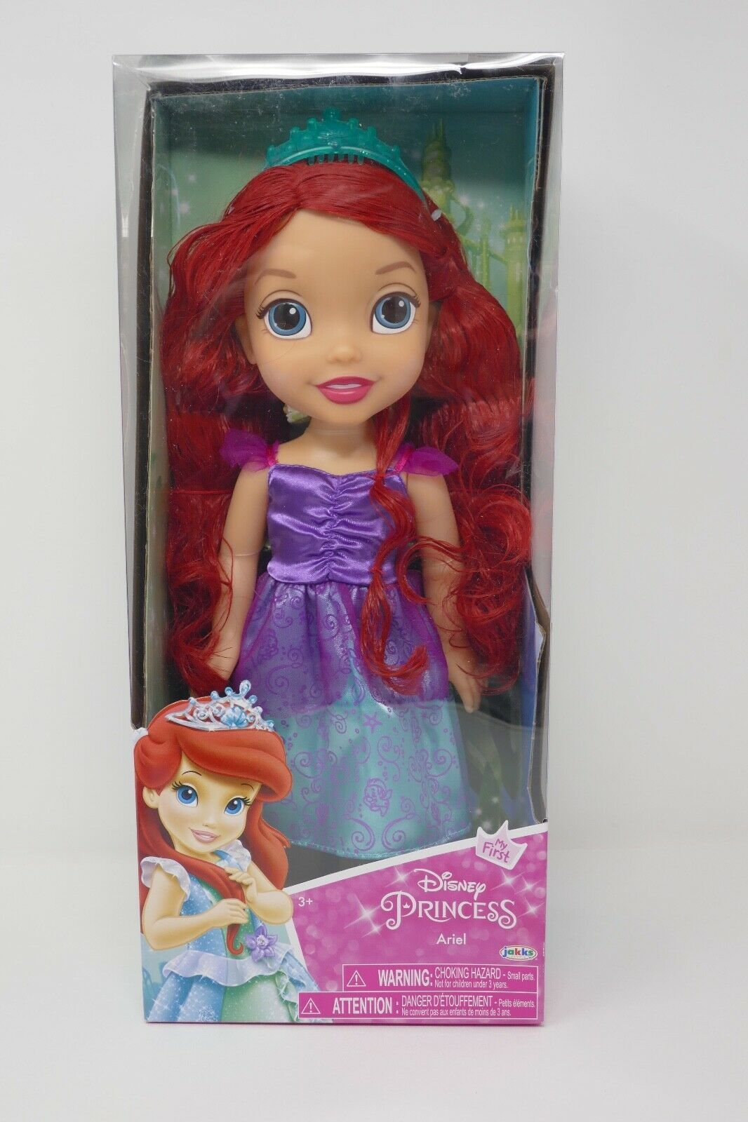"Primary image for Jakks Pacific My First Disney Princess Ariel 13"" Doll SEALED"