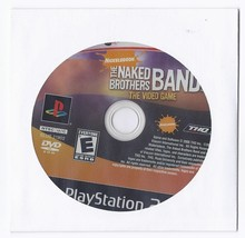 The Naked Brothers Band Video Game Playstation 2 - $9.50
