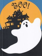 "Greeting Card Halloween ""Boo!"" - $1.50"