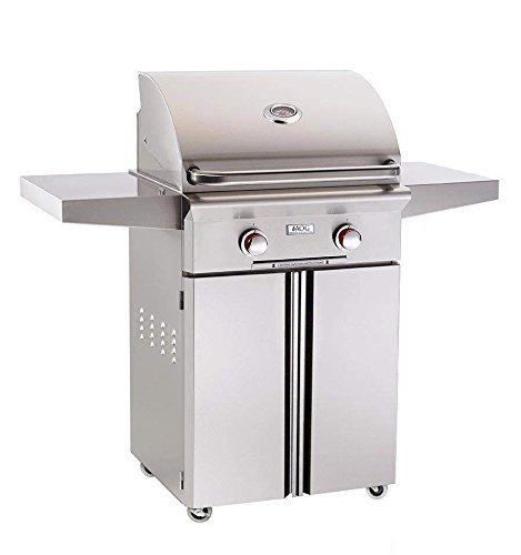 American Outdoor Grill T-Series 24 Inch Propane Gas Grill On Cart