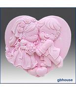 2D Silicone Soap Mold – Cutest Couple - $25.00