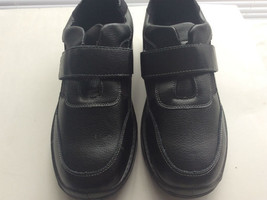 Men Comfort Dress Shoes Great Style WorkOfice Casual Travel Blk Lightwei... - $22.75