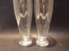 (2) Crate & Barrel Pilsner Beer Glasses 24 Ounce - $27.09