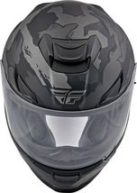 2XL Fly Racing Sentinel Ambush Motorcycle Helmet Camo/Grey/Black DOT & ECE  image 4