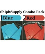 2.5 Mil 2-1000 10x13 ( Blue & Red) Color Combo ... - $1.49 - $74.79