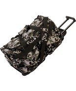 Rolling Outdoor Travel Duffle Bag, Mens Luggage... - $31.95