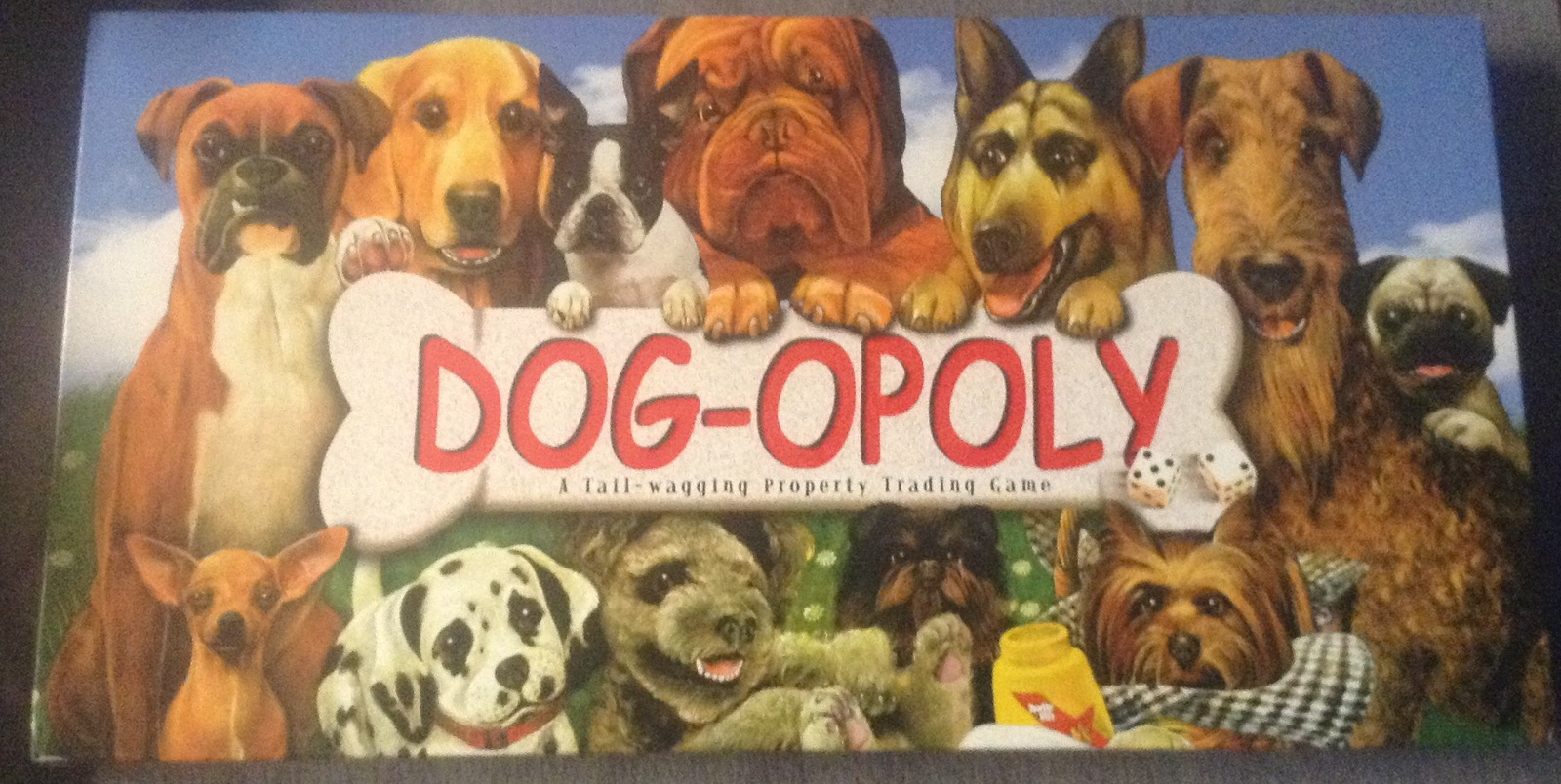 Dog-opoly Dog Monopoly Property Trading Game 2 to 6 Players Board Game