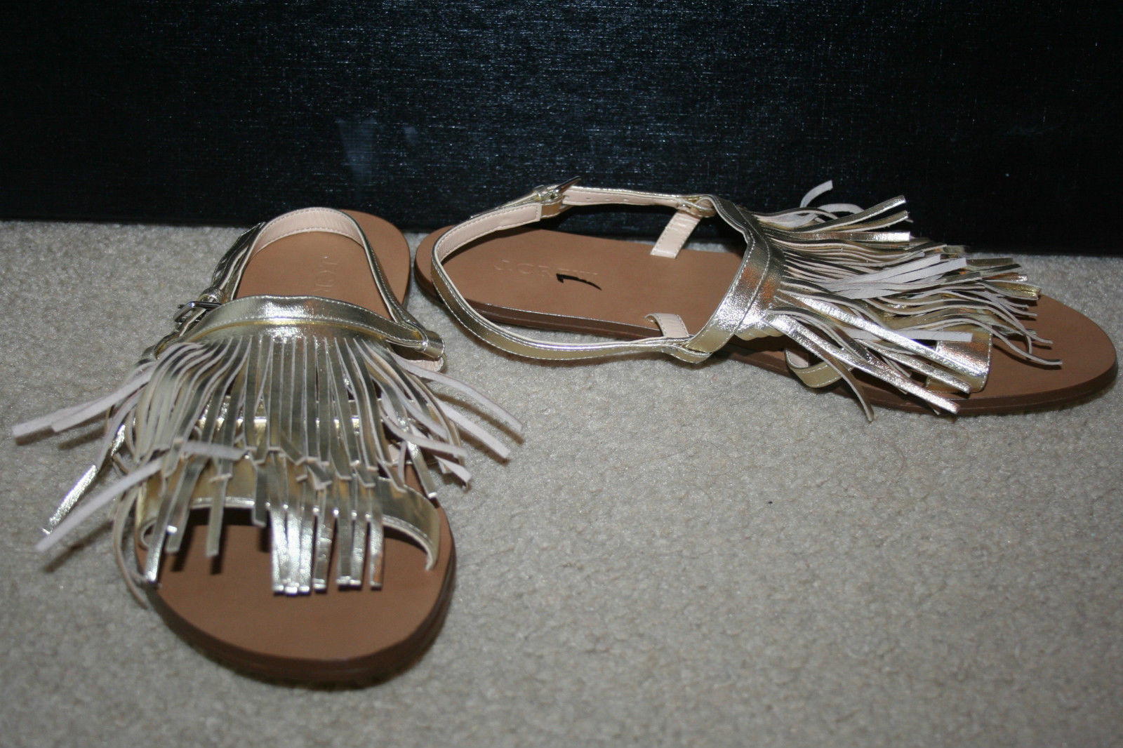 J.Crew Fringe Slingback Sandalo Size 6 M M M and 42 similar items 41768c