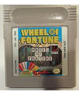 Wheel of Fortune Nintendo GameBoy  - $3.99
