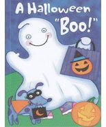 "Greeting Card Halloween ""A Halloween Boo!"" - $1.50"