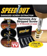 SpeedOut 4pc Damaged Screw & Bolt Extractor - A... - $9.99