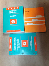 1995 DODGE DAKOTA TRUCK Service Repair Shop Manual Set W Diagnostics + R... - $128.65