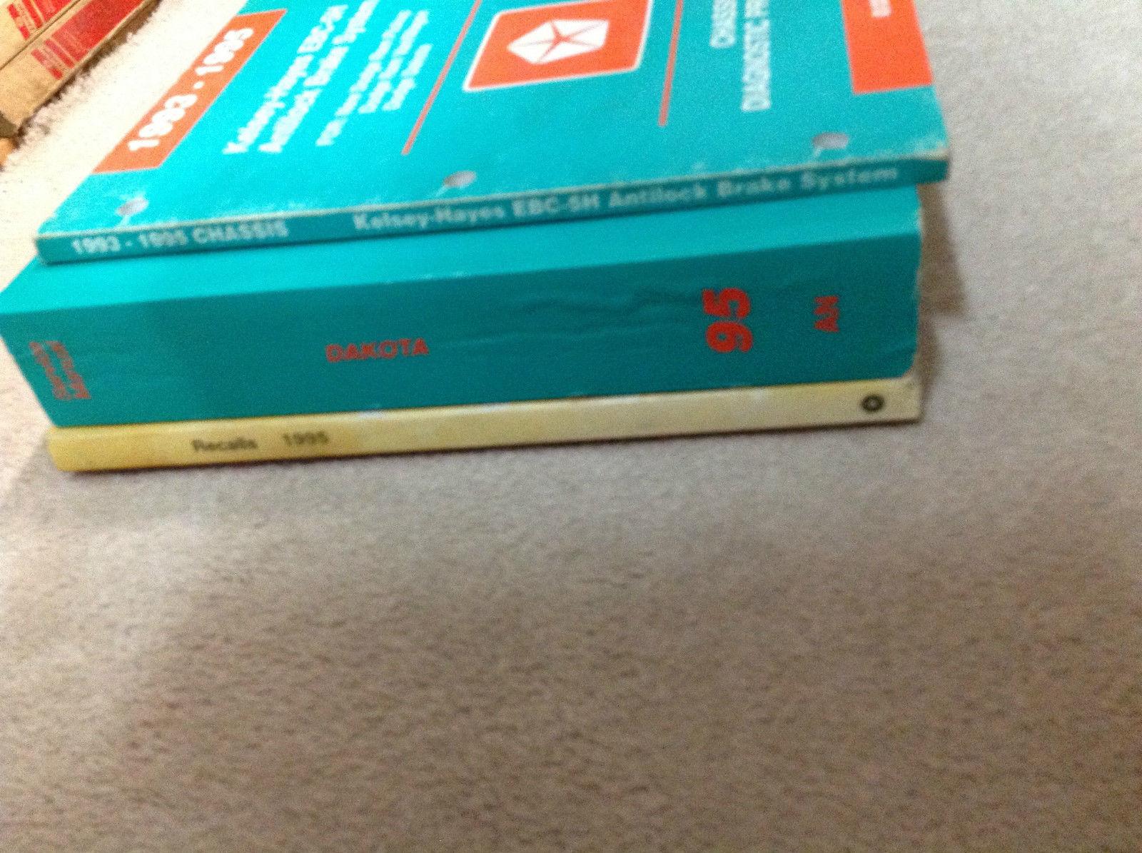 1995 DODGE DAKOTA TRUCK Service Repair Shop Manual Set W Diagnostics + Recalls