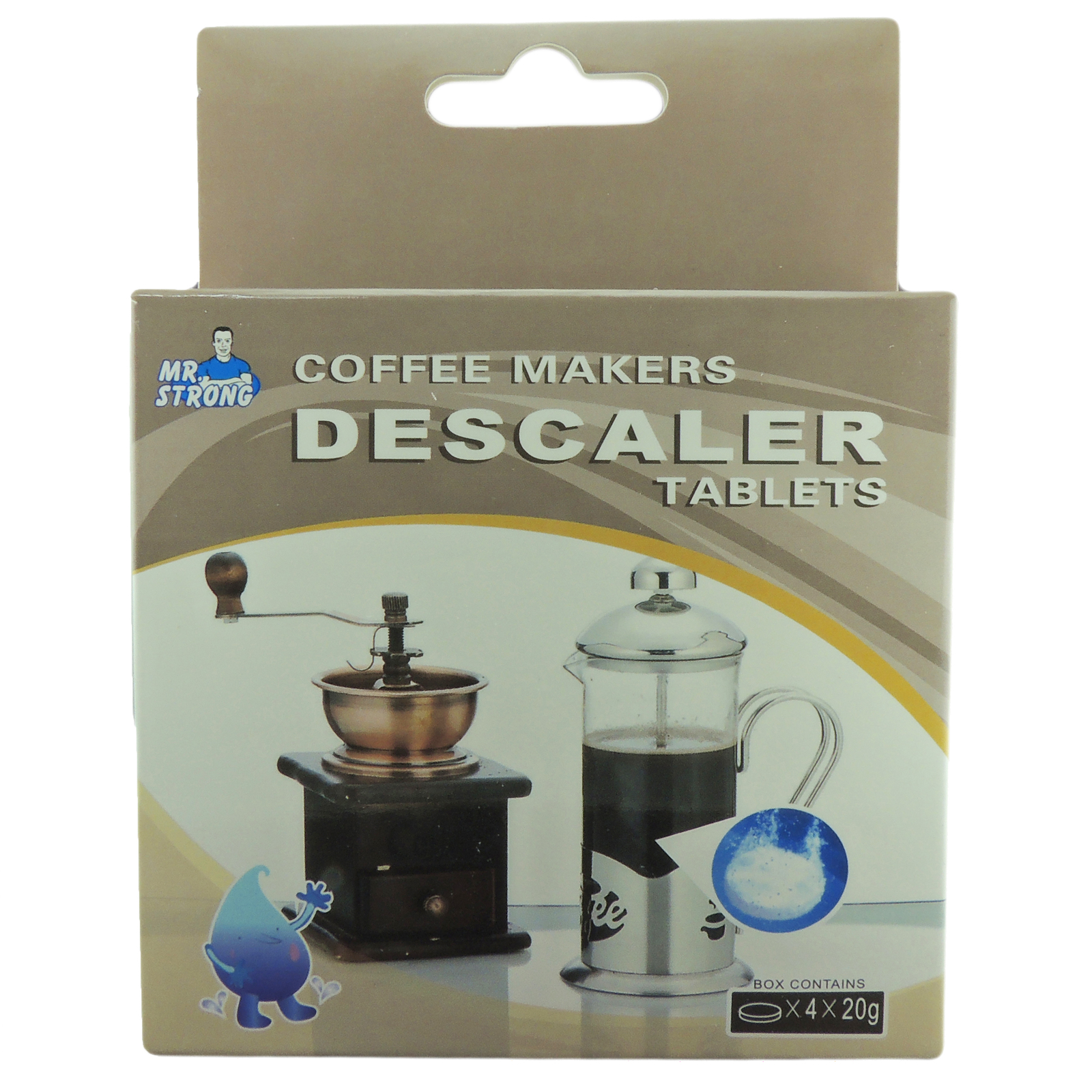 8-Pack Descaler Descaling Tablets for Nespresso Tassimo Keurig Drip Coffee Maker - Replacement ...