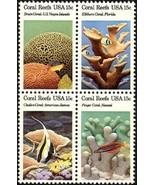 1980 15c Coral Reefs, Florida, Hawaii Block of 4 Scott 1827-30 Mint F/VF NH - $1.49