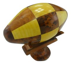 Decorative wooden collection ball,Thuya wooden US football game from Mor... - $79.00