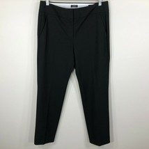 Ann Taylor Loft Womens Marisa Fit Dress Pants Size 6 Black Flat Front - $18.99