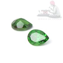 Natural Chrome Tourmaline 4x3mm Pear Cut 5 Pieces Top Quality Loose Gems... - $22.98