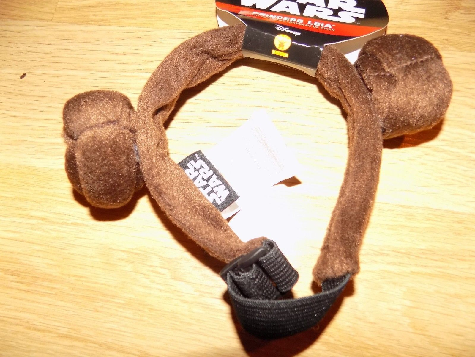 Size Medium / Large Disney Star Wars Princess Leia Headband Costume for Dog Pet