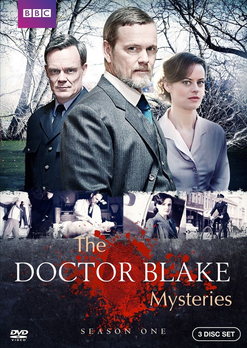 Doctor blake mysteries dvd complete first season one 1  2016  3 disc