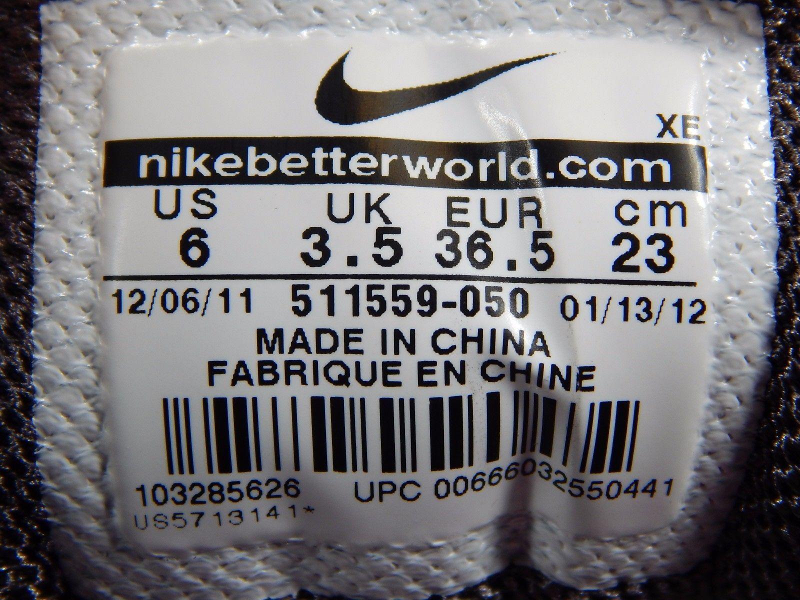 Nike Zoom Vomero+ 7 Women's Running Shoes Sz US 6 M (B) EU 36.5 Gray 511559-050