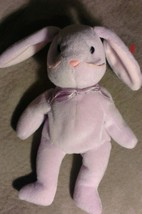 TY Beanie Baby FLOPPITY BUNNY HARE HAIR NICE PLUSH STUFFED ANIMAL Retire... - $4.94