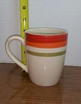 Royal Norfolk Greenbrier International Mug Cup 16 Oz Red/Orange/Green St... - $6.43