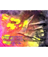 Meditation Art, Peace Art, Yoga Art - To Fly - Quality A3 Print - $50.00