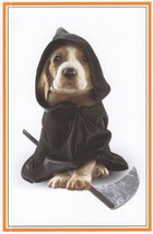 "Greeting Card Halloween ""Forget the grim and go for the grins Happy Hall... - $1.99"