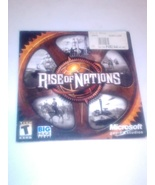 Rise of Nations PC - $6.50