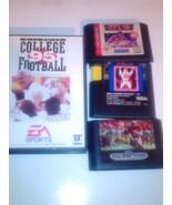 Sega Genesis vintage football lot - $19.95