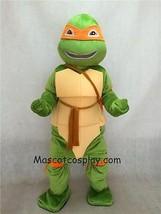Orange TMNT Teenage Mutant Ninja Turtle Michelangelo Mikey Mascot Party ... - $167.37