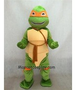 Orange TMNT Teenage Mutant Ninja Turtle Michelangelo Mikey Mascot Party ... - $167.37