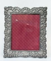 "Sterling Silver  picture frame Hallmarked 925 Peru handmade 12.99"" - £100.08 GBP"