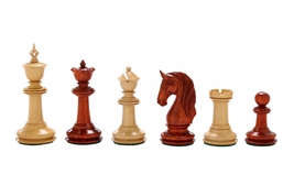 CB Blackburne (Joseph Henry) Edition Chess Set in Bud Rose & Box Wood  VJ047 - $602.99