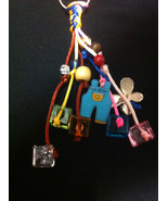 Multicolor HandCrafted Keychains party Favors For Baptism/Baby shower fo... - $3.90