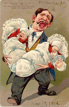 Four little Darlings Paul Finkenrath of Berlin Post Card - $7.00