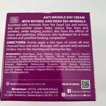 Dead Sea Collection Anti Wrinkle Aging Retinol Night Face Cream 1.69 Oz Beauty image 5