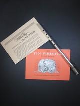 Tin Whistle Williamsburg Music Tune Book Souven... - $32.89