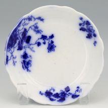 Flow Blue Duchess Cereal Bowls c1900 Grindley England Set of 3 image 3