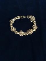 Cute silver tone chain bracelet - $5.00